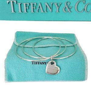 Tiffany & Co Double Heart Triple  Wire  Bracelet